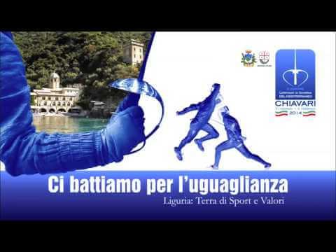 Spot Campionati di Scherma del Mediterraneo Chiavari 2014