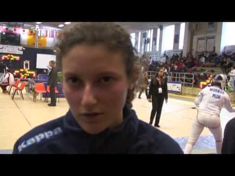 Campionati del Mediterraneo Chiavari 2014 - Intervista ad Alice Cassano
