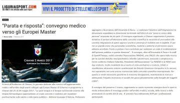 Liguria Sport 9 febbraio 2017