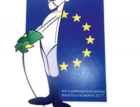 Mascotte Campionati Europei Fencing Master